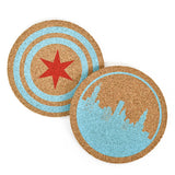 Chicago Skyline Coasters (Set of 4)