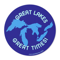 Great Lakes Great Times Sticker