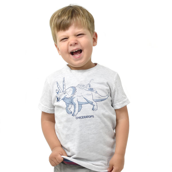 Chiceratops Chicago Kids Tshirt