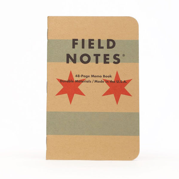 Field Notes® Chicago Flag Pocket Notebooks (Set of 3)