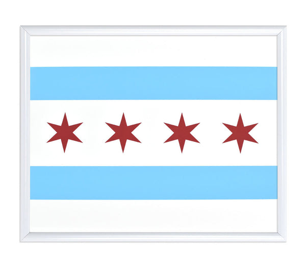 chicago-flag-letterpressed-print