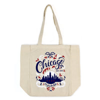 City by the Lake Chicago Tote Bag