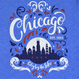 City by the Lake Chicago Unisex Fit Tshirt