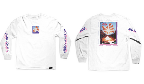 Infinity long sleeve tee - Meridian skateboards