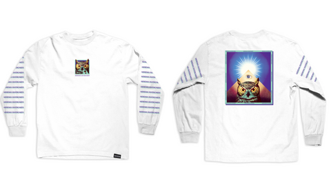 Owl eye long sleeve tee - Meridian skateboards