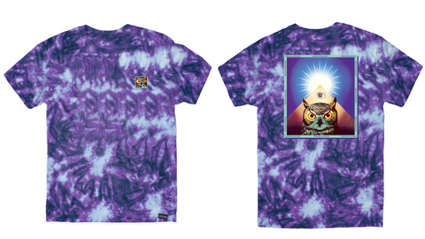 Owl eye tee - Meridian skateboards