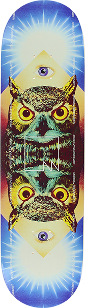 Owl eye deck - Meridian skateboards
