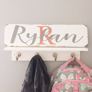 Single Plank Child's Name Sign