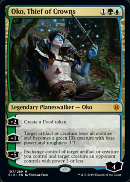 Oko Thief of Crowns - Throne of Eldraine ELD - NM