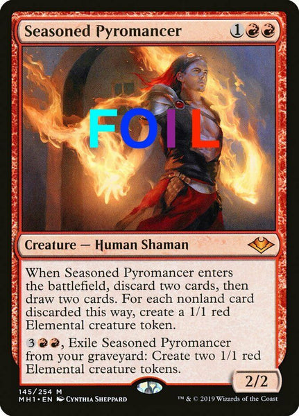 FOIL Seasoned Pyromancer - Modern Horizons MH1 - NM