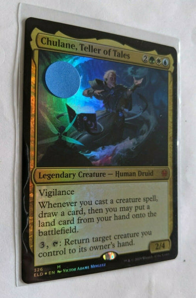 FOIL Chulane, Teller of Tales Magic Throne of Eldraine ELD MTG NM FREE SHIPPING