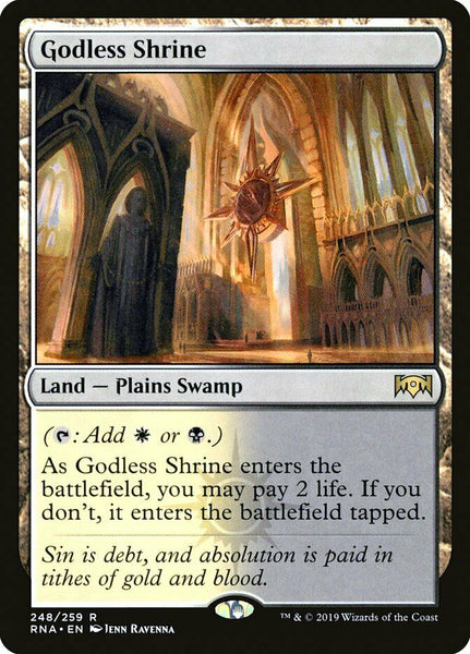 Godless Shrine - Ravnica Allegiance RNA - NM