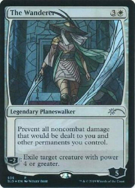 Stained Glass Foil - The Wanderer - Secret Lair Drop