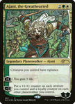 Stained Glass Foil - Ajani the Greathearted - Secret Lair Drop