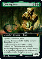 Extended Art Questing Beast - Throne of Eldraine ELD - NM