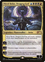 Stained Glass Foil -  Nicol Bolas Dragon God - Secret Lair Drop