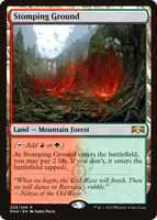 Stomping Ground - Ravnica Allegiance - NM