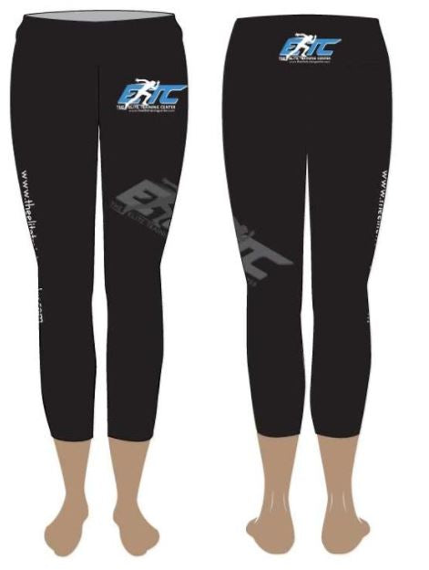 The Elite Training Center Cropped Leggings