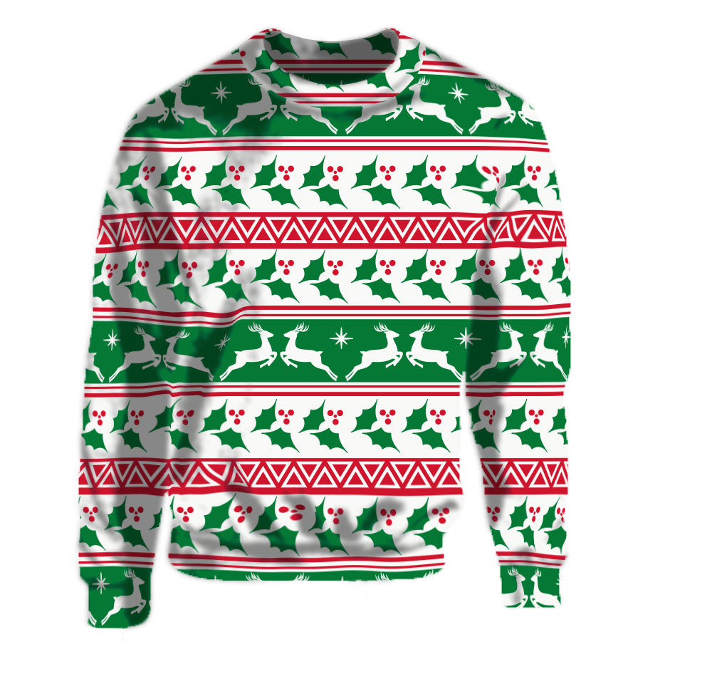 Merry Christmas with the ugly christmas sweatershirt of the year.