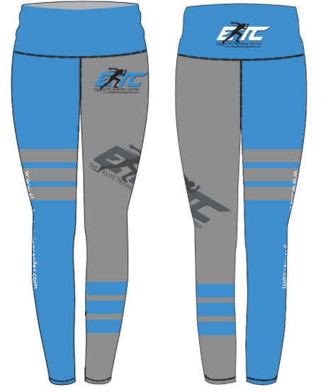 The Elite Training Center Full Length Mid Rise Legging
