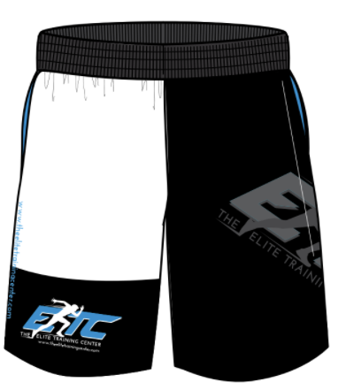 The Elite Training Center Men's Active Short