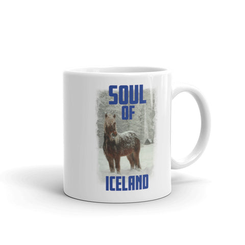 Scottish Viking's The Soul of Iceland MUG - Icelandic Blue
