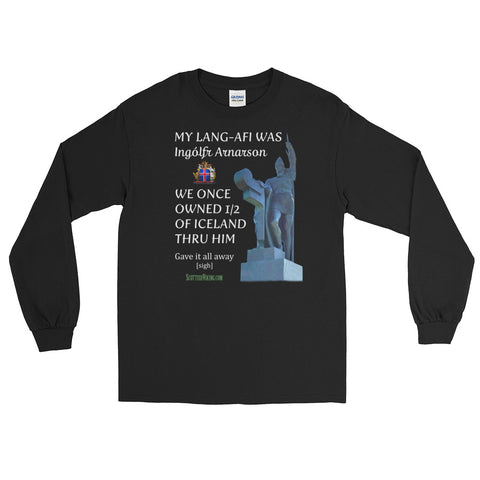 Scottish Viking's Long Sleeve T-Shirt - My Lang-Afi (GGF) was