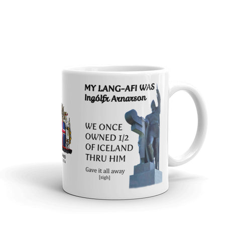 Scottish Viking's 11 or 15 Oz Mug - (Generic) Ingolfur Arnarson