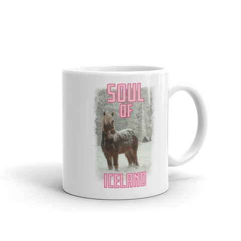Scottish Viking's The Soul of Iceland MUG - Pink