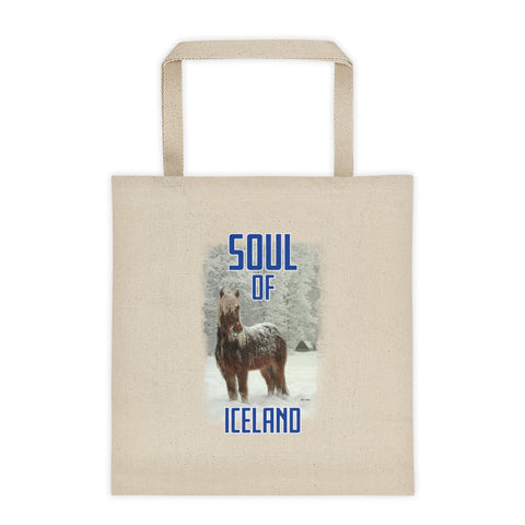 Scottish Viking's The Soul of Iceland Tote Bag - Icelandic Blue