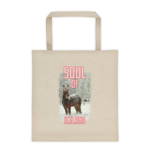 Scottish Viking's Tote bag - Soul of Iceland - Pink