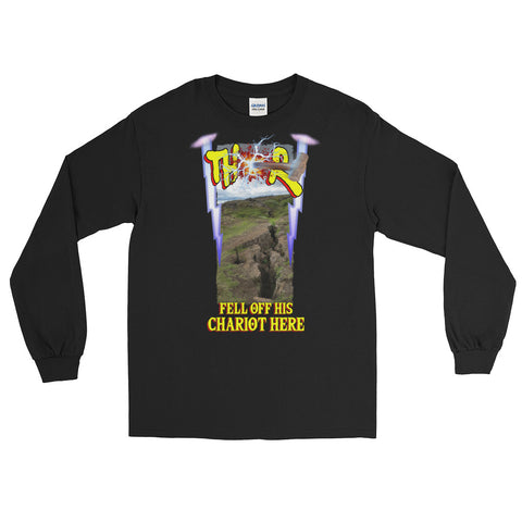Scottish Viking's - THOR FELL OFF HIS CHARIOT HERE - Long Sleeve T-Shirt