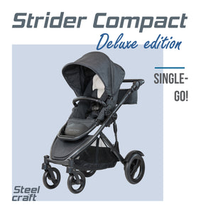 Steelcraft Compact Strider Textured Edition