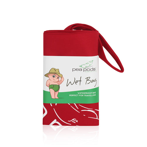Pea Pods Travel Nappy Wet Bag