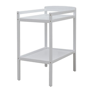 Bristol White 2 Tier Change Table with Change Pad