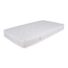 Bristol White Cot with Inner Spring Mattress