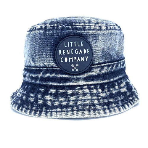 Little Renegade Company : Indigo Bucket Hat