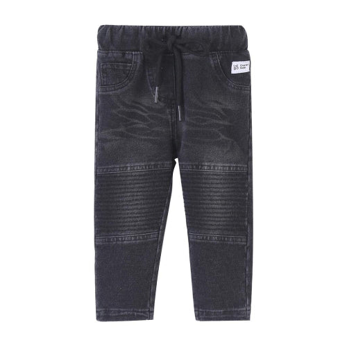 Cracked Soda : Kai Detailed Jeggings - Black