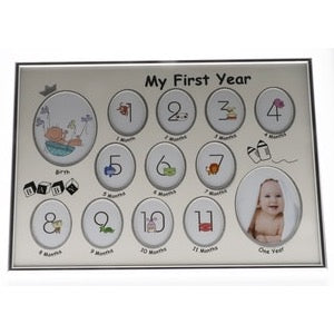 My First Year Collage Frame Unisex