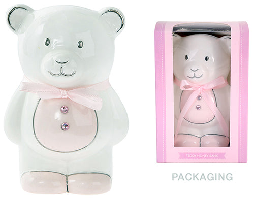 Money Box Teddy Bear