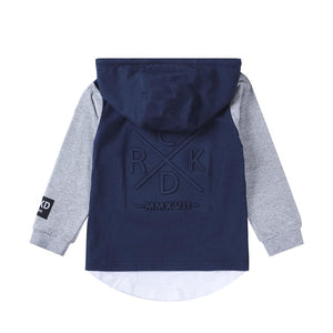 Cracked Soda : Sasha Long Sleeve - Navy