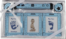 Birth Certificate Holder, Photo Frame and Tooth & Curl Set