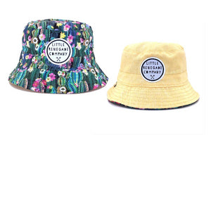 Little Renegade Company : Oasis Reversible Bucket Hat