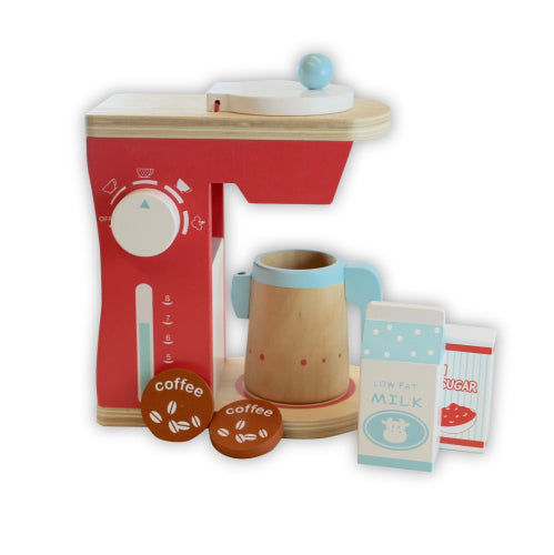 Discoveroo: Coffee Machine 6pc set