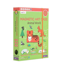 MierEdu: Magnetic Art Case: Animal World
