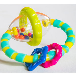 Bright Starts - Grab & Spin Rattle Toy