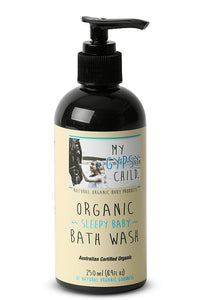 My Gypsy Child Sleepy Baby Organic Bath Wash
