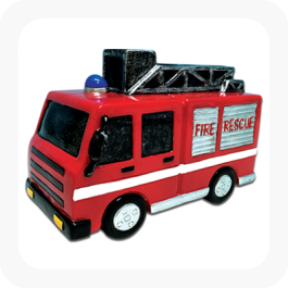 Fire Truck Money Box
