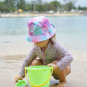 Little Renegade Company : Cotton Candy Reversible Bucket Hat