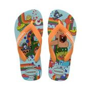 Havaianas Kids Cartoon Ice Blue Thongs